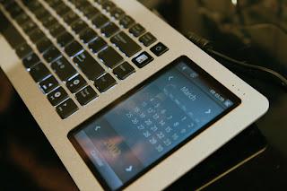 asus eee touchscreen keyboard
