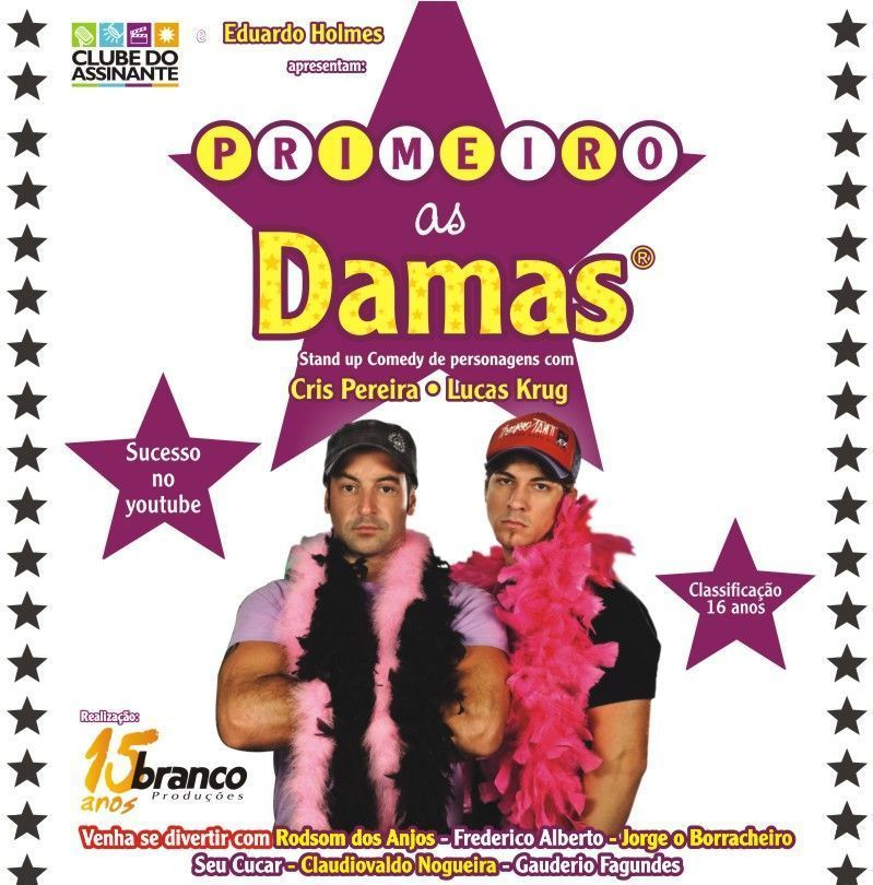 Primeiro As Damas DVDRip RMVB (Nacional) primeiro as damas novo banner 1