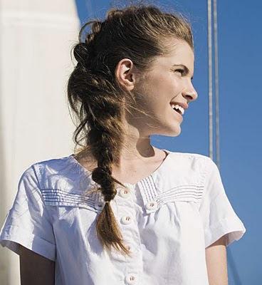 penteado moderno para o verão