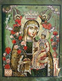 Maica Domnului de la Manastirea Poiana Marului