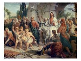 """""""Osana! Binecuvantat este Cel ce vine intru numele Domnului, Imparatul lui Israel !"""""""