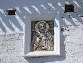 Deosebita icoana a Sfantului Nicolae din Manastirea Solovat