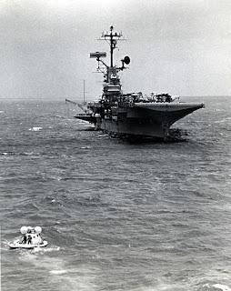 ...and the real life Apollo splashdown. Look familiar?