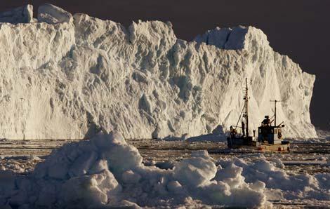 El hielo derretido en Groenlandia puede hacer que el mar anegue Nueva York