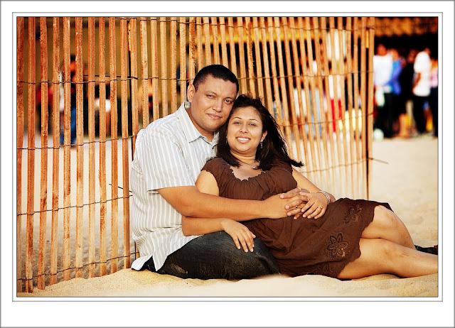 Engagement Portrait, Santa Monica Pier