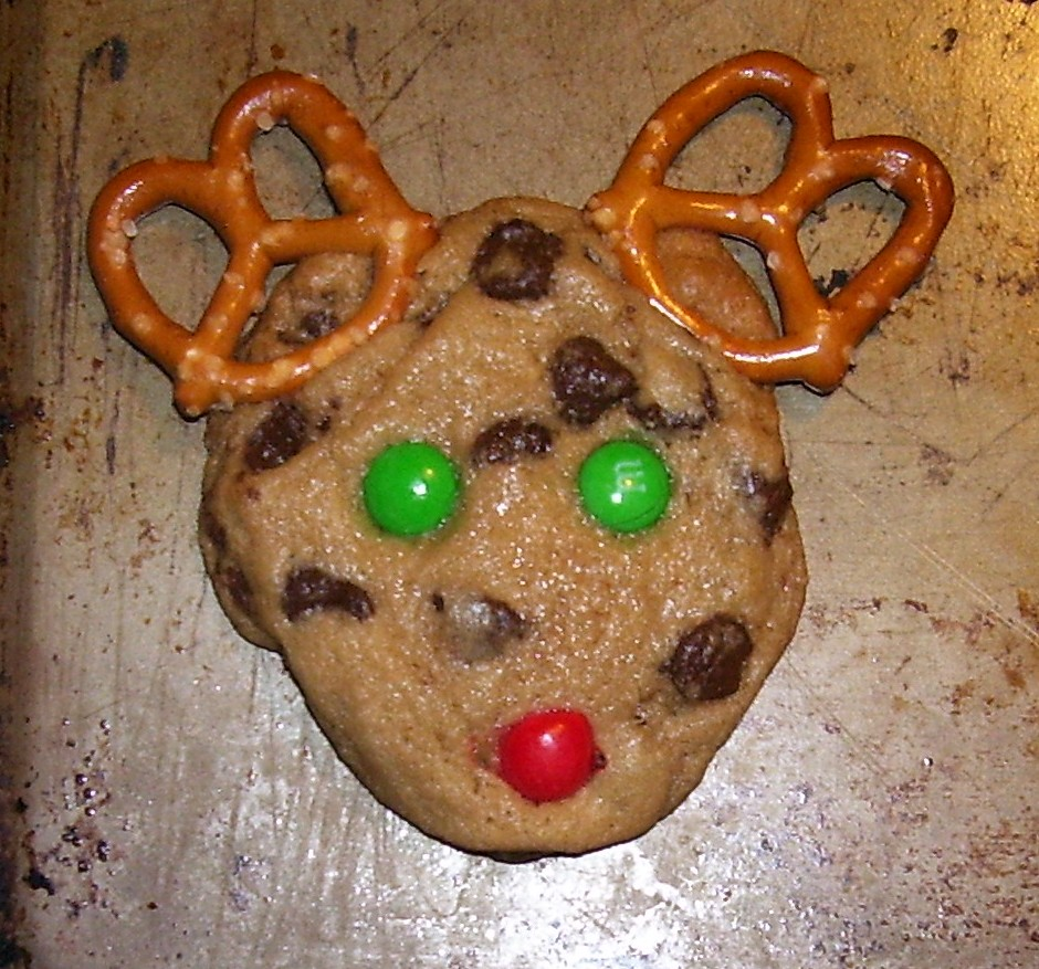 Recipes Rudolph The Red Nose Reindeer Chocolate Chip Cookies
