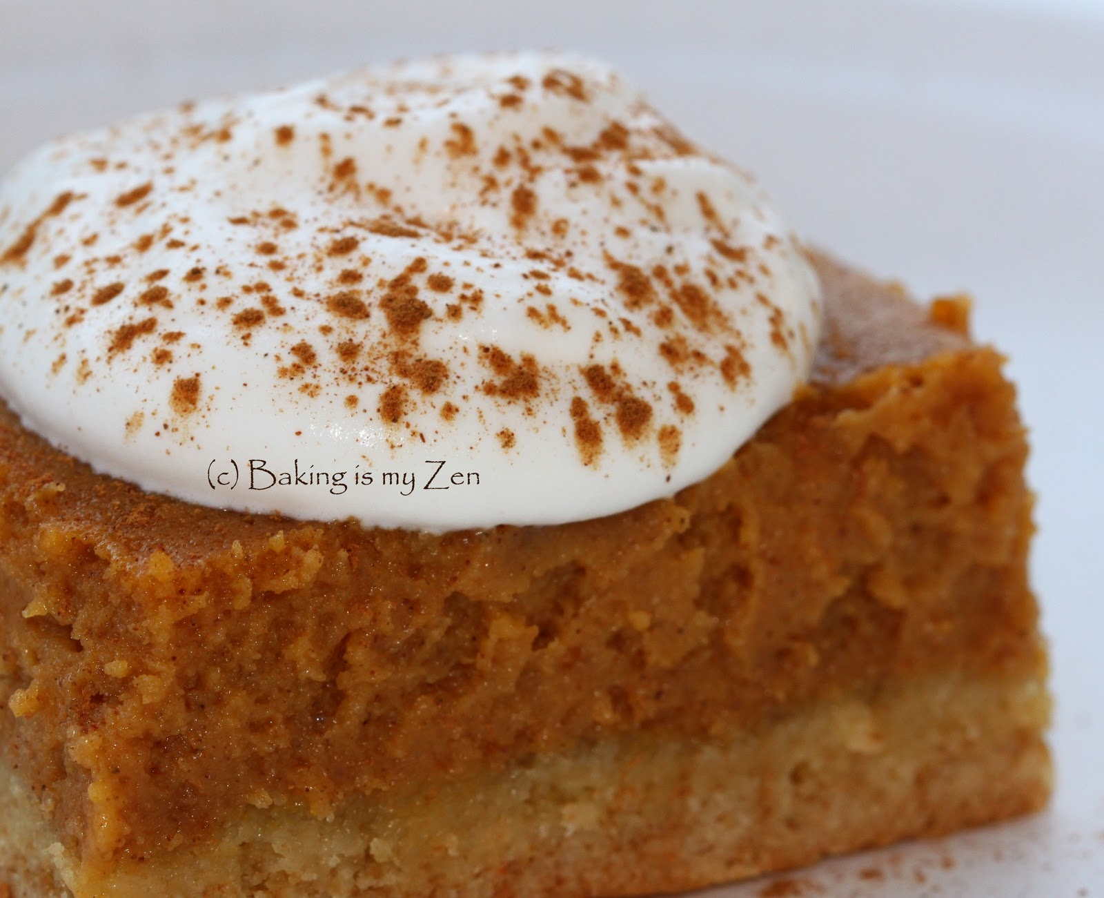 Baking is my Zen: PUMPKIN LOVE ~ Pumpkin Gooey Butter Cakes