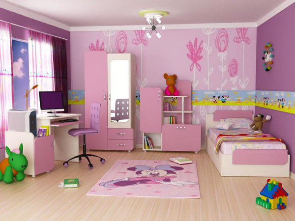 Kids Room Design Ideas for Girls