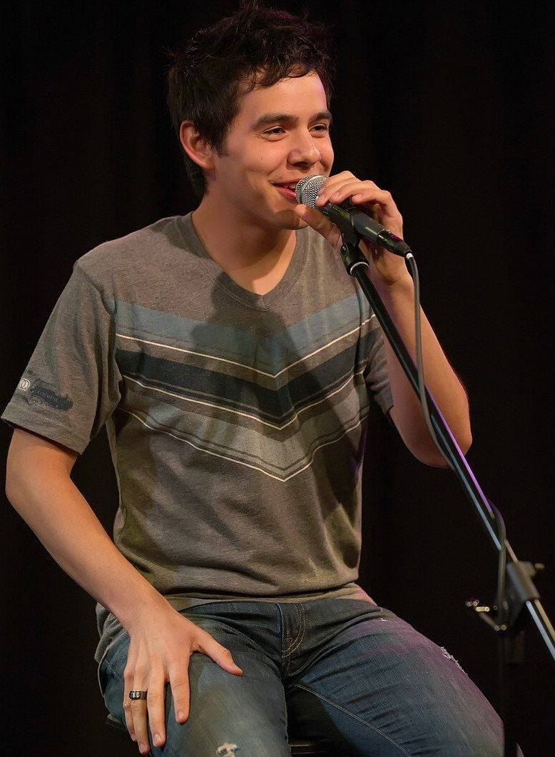 David Archuleta was spotted performing in Philadelphia.