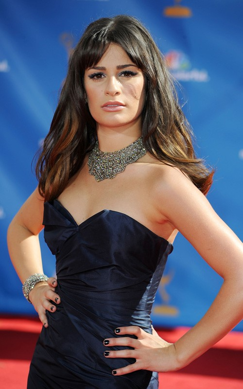 Lea Michele Was Spotted Arriving At The 62nd Primetime Emmy Awards