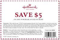 Hallmark Coupon $5/$25