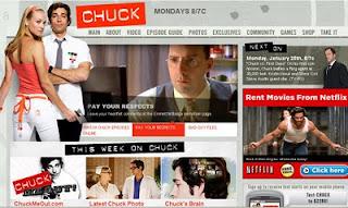 Chuck on NBC