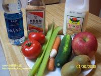 小婆試驗的養生蔬果汁
