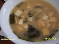 魚板豆腐味噌湯