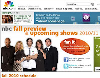 NBC 2010 Fall Preview