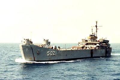 KRI Teluk Bayur-502