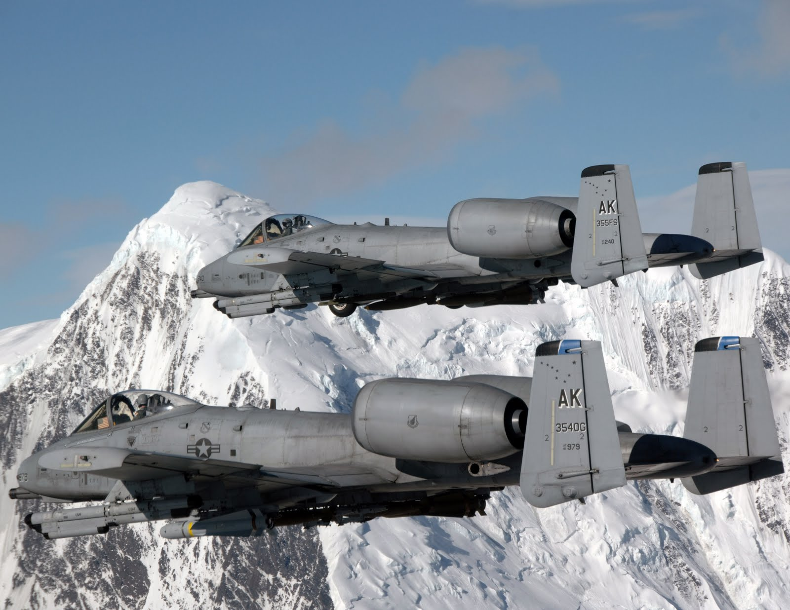 Gallery Pesawat Tempur: A-10 Thunderbolt (Warthog)
