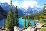 Day 9Banff Lakes & Calgary (dsc moraine lake)