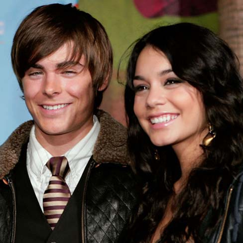 zac efron pictures. vanessa hudgens and zac efron