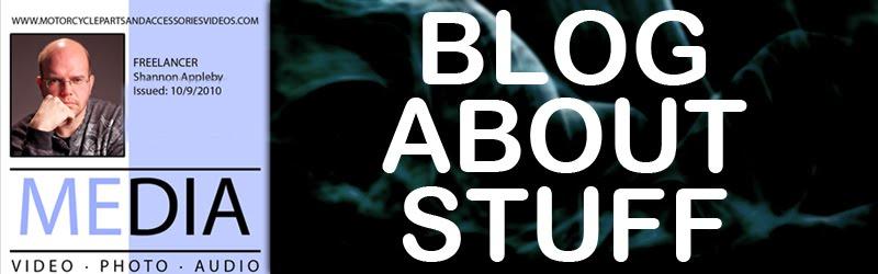 Shannon Appleby Blog... Stuff that's going on.