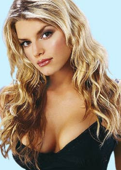 Jessica Simpson is fond of her bosoms