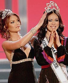 Miss Japan Crowned Miss Universe 2007