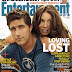 Matthew y Evangeline en la portada de EW