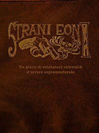 Copertina di Strani Eoni, Wild Board Edizioni