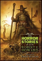 copertina di The Horror Stories of Robert E. Howard