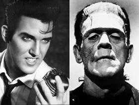 Frankenstein e Elvis