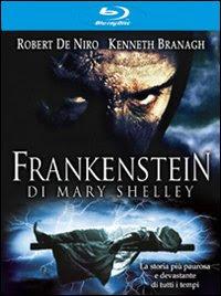 Copertina di Frankestein di Mary Shelley in Blu-Ray