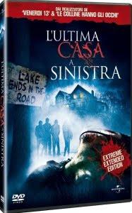 DVD de L'ultima casa a sinistra