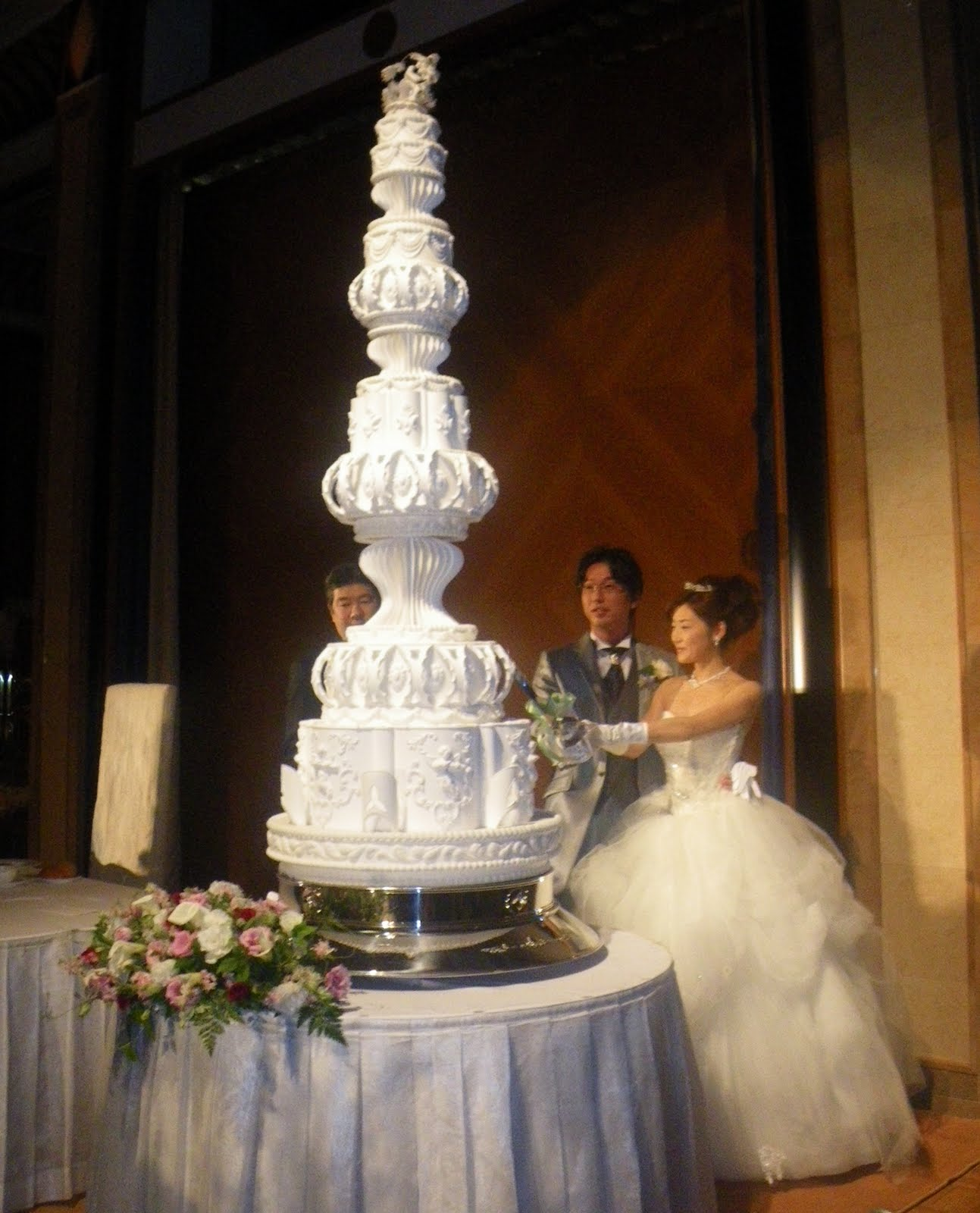 Diary Giant Wedding Cake