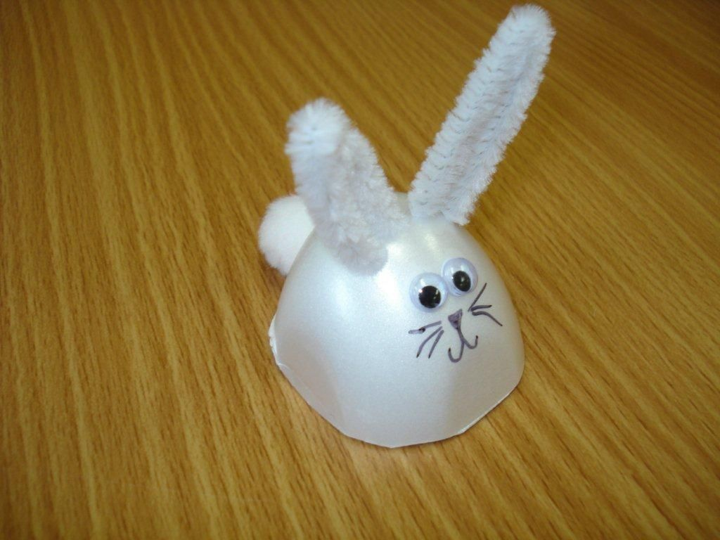 Eggcarton easter bunny craft for kids u it s all kid s play