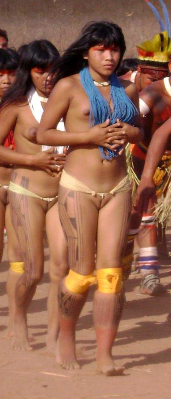 brazilian indians girls naked