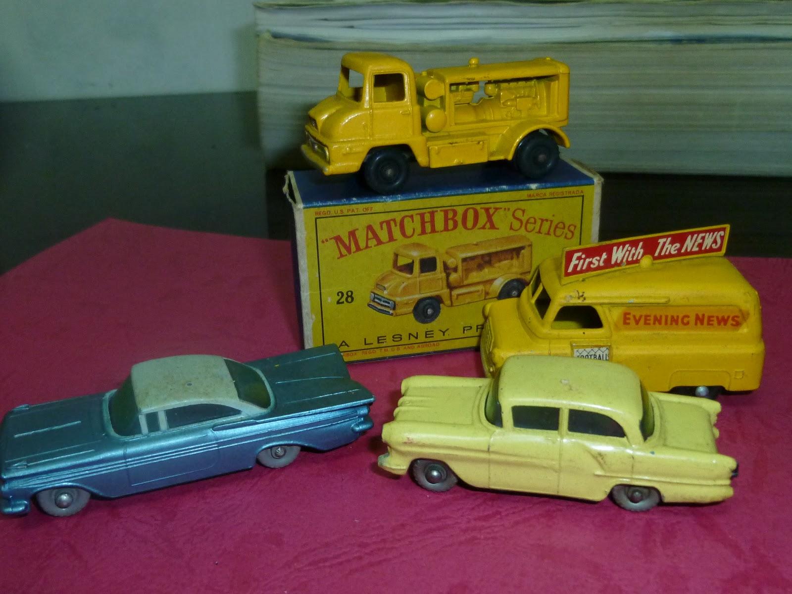 Lesney Vintage Matchbox Diecast Model Cars (Mixed bunch)