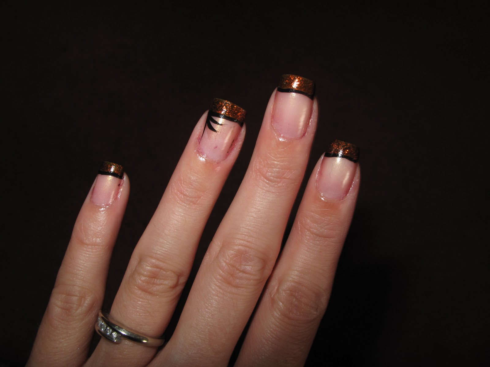 Nail Designs: Another french