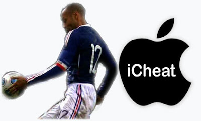 Thierry Henry - Handball Cheat