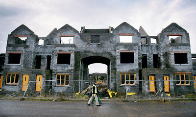 Ghost Estates in the Irish Financial Machine, or deliberate entrapment into eternal Debt-slavery