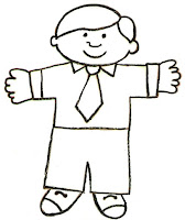 Transformative image in flat stanley printable templates