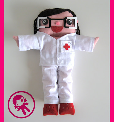 muñeca enfermera