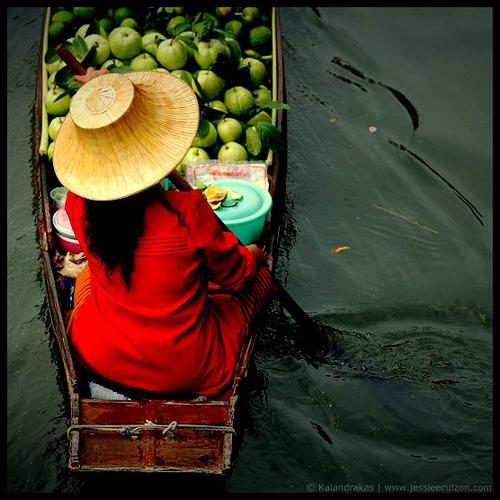 kalandrakas' floating market, thailand