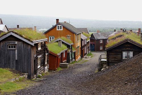 mining town, roros, norway