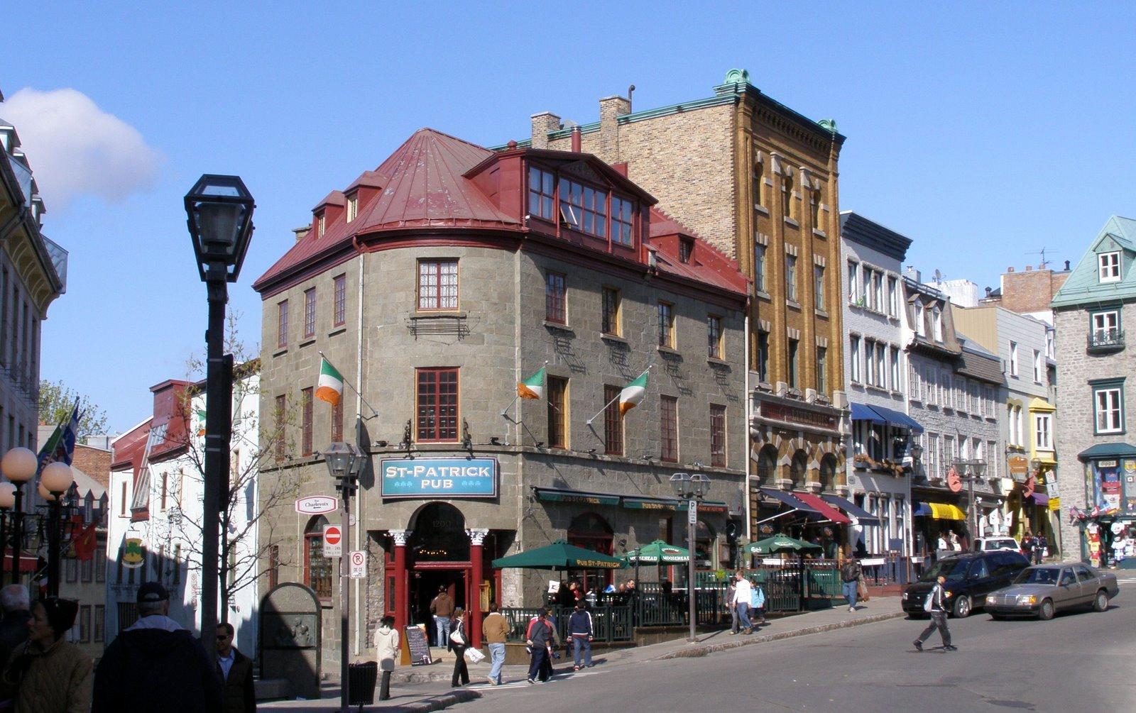 pub st patrick, rue garneau, quebec city