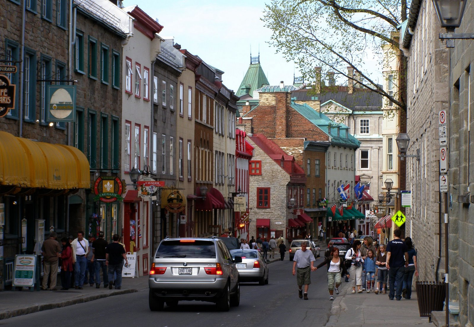 rue saint-louis, quebec city