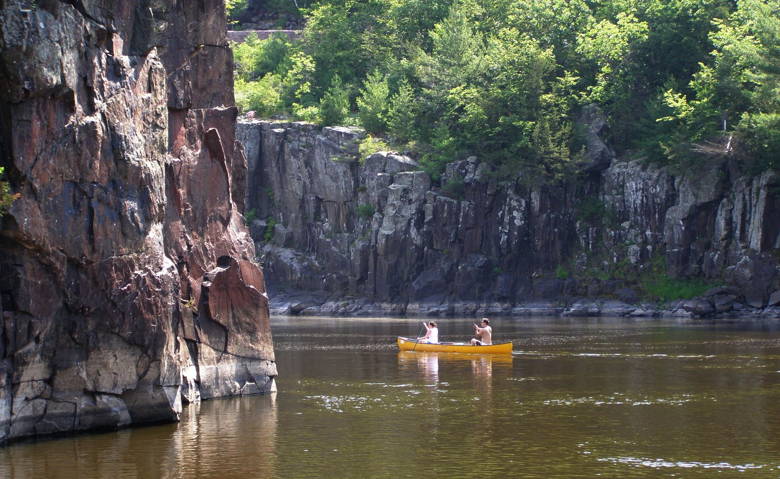 canoeing the st croix river, minnesota and wisconsin