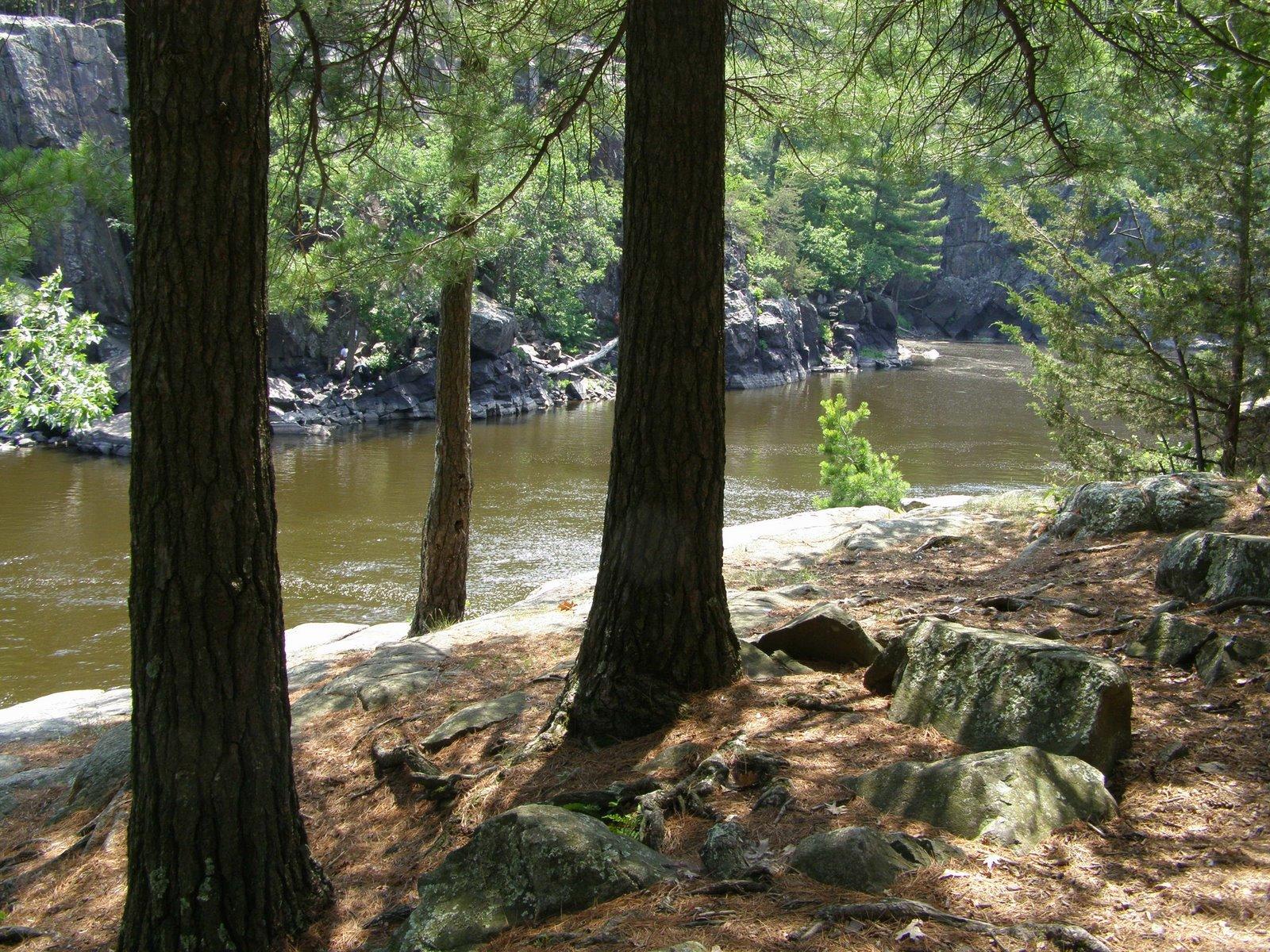 st croix river, interstate state park, taylors falls, minnesota