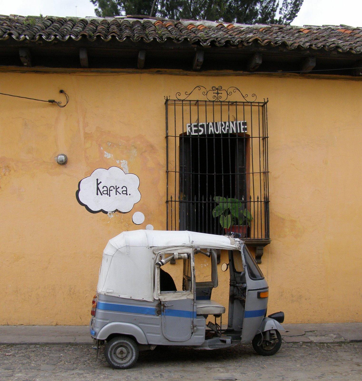 tuk tuk in la antigua guatemala