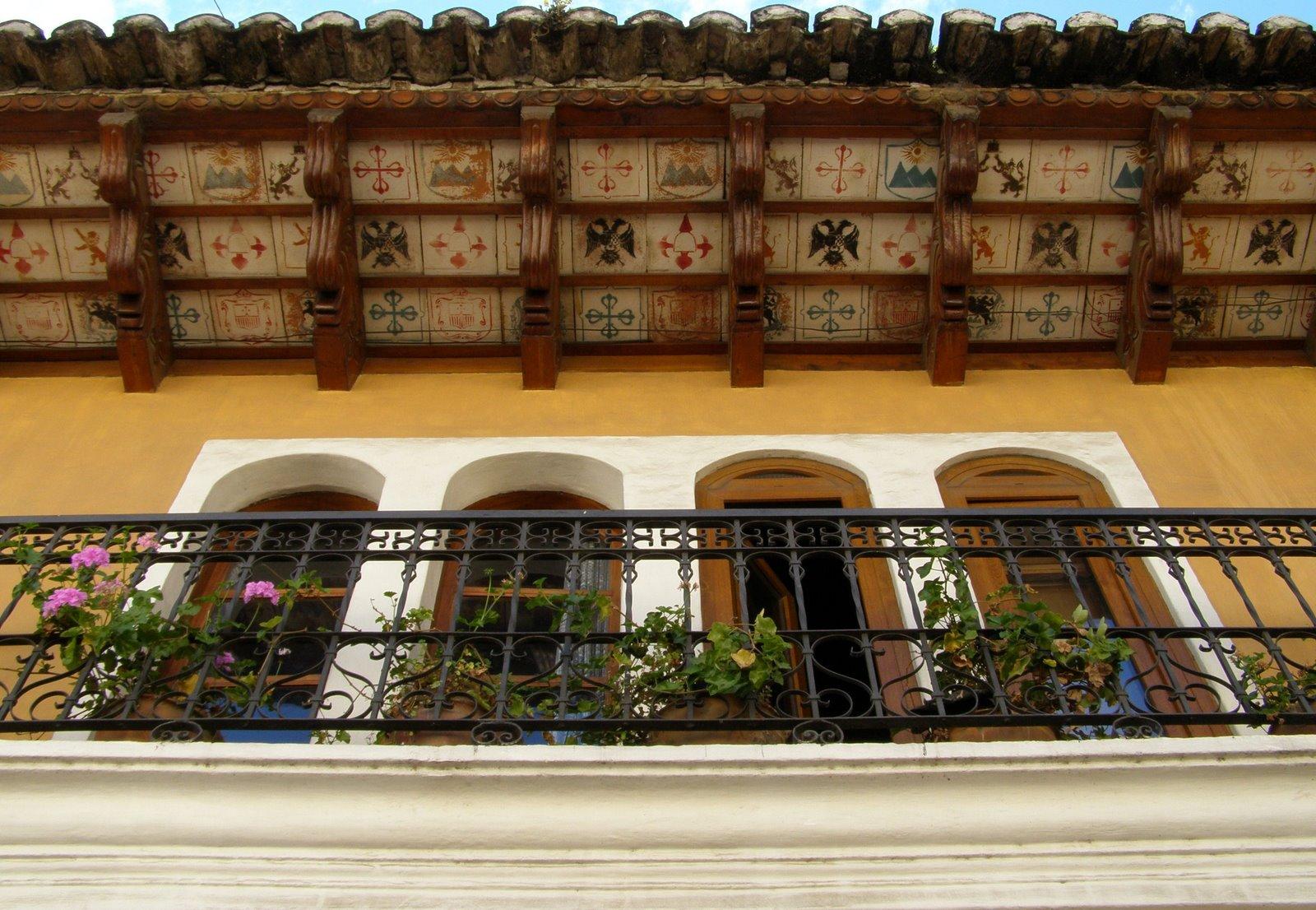 tile soffit, la antigua guatemala
