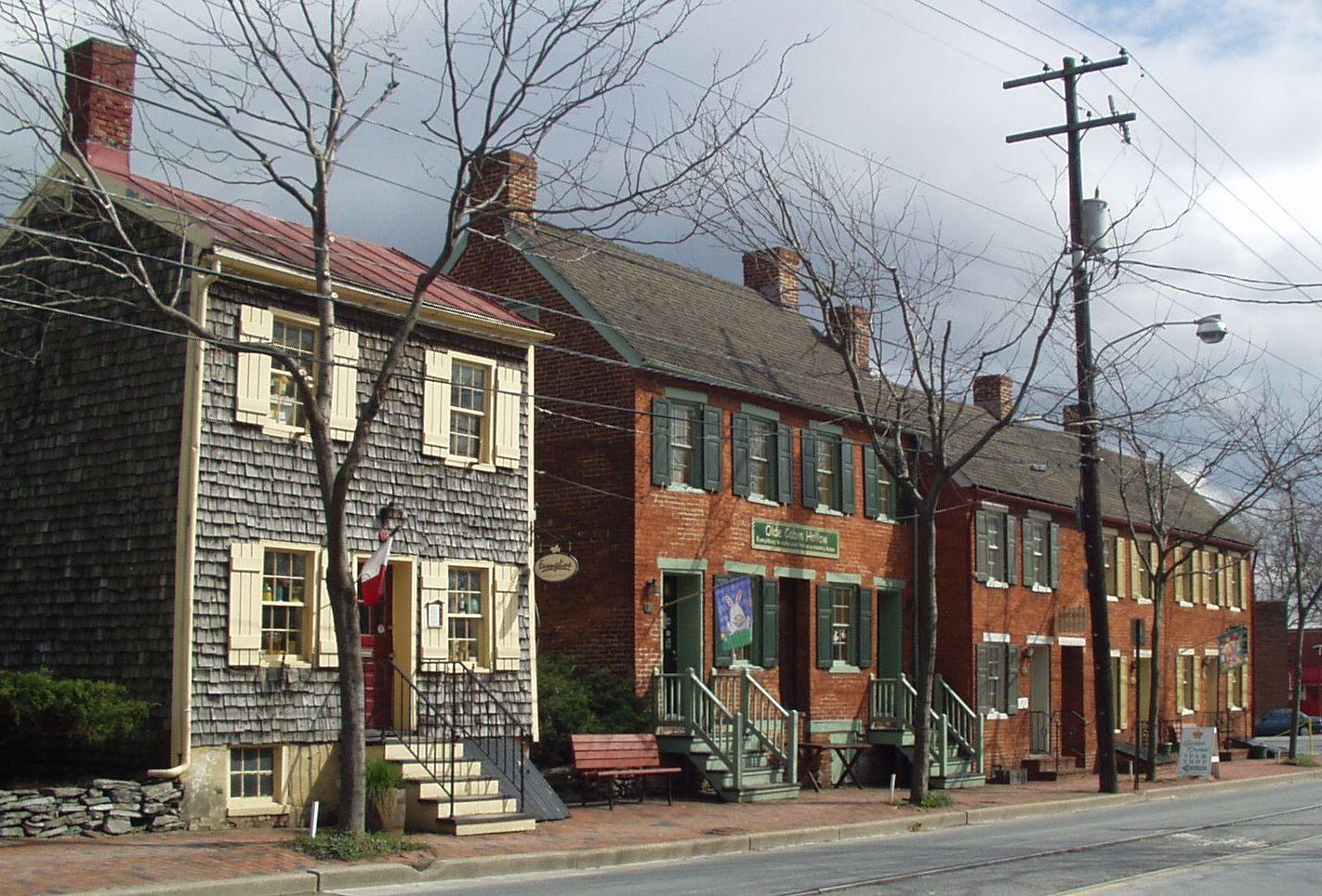 Shab Row, Frederick, Maryland